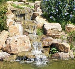 Bachlauf Wasserfall